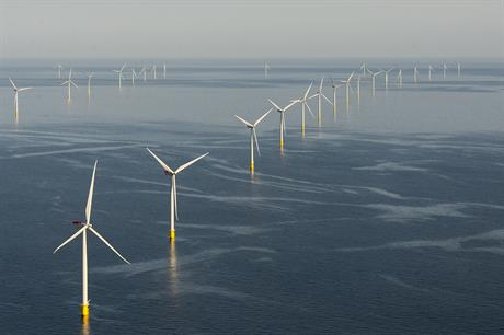 Dong's 400MW Anholt project is producing power again