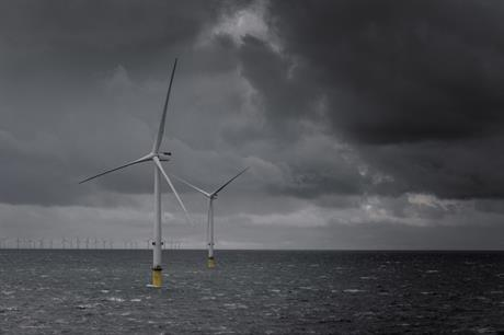 Dong Energy said increased output, due to greater capacity, helped to boost earnings (pic: MHI Vestas)