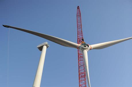Envision's 4MW turbine