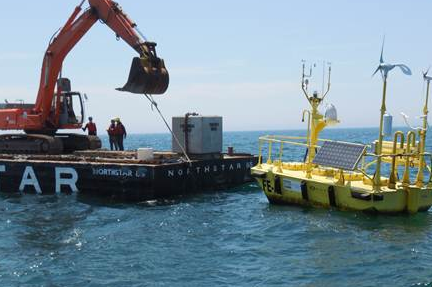 Fishermen's has installed a floating wind monitoring system off the New Jersey coast