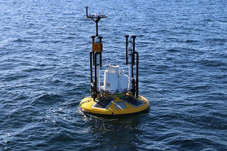 The Seawatch lidar has been deployed at the Navitus Bay site off the UK's south coast