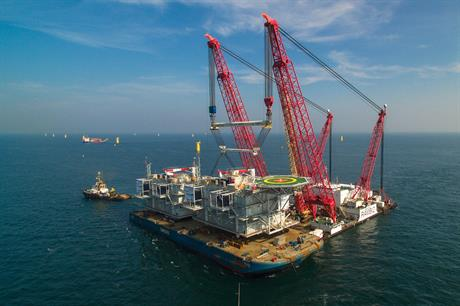 Gemini's two substations have been installed