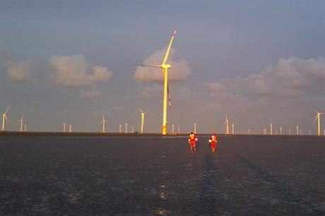 Goldwind has installed 109.5MW offshore to date