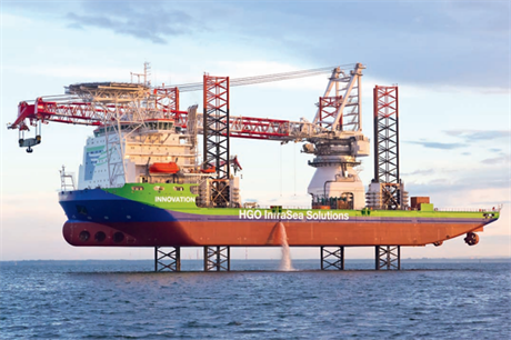 There are currenlty 40 specialist installation vessels available
