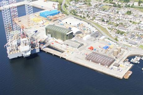 The Invergordon facility is currently being expanded