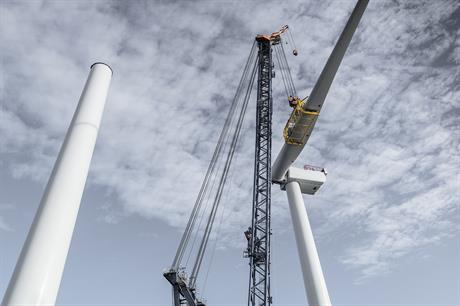 UK's offshore wind projects will be competing for £290 million in the next CfD auction (pic: MHI Vestas)