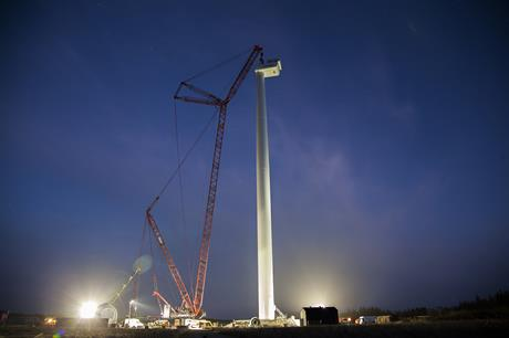 A version of the V164 model has been installed at Osterild since 2014 (pic: MHI Vestas)