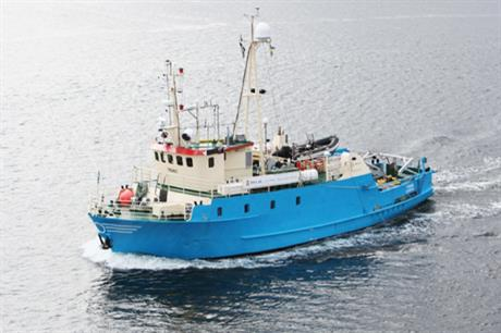 MMT's Triad vessel will carry out the work