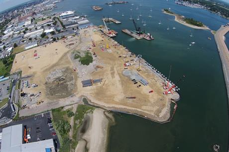 The terminal is currently under construction (pic: Massachusetts Clean Energy Centre)
