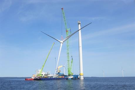 Moventas carrying out refurbishment of drivetrains at Vindpark Vänern wind farm, Sweden