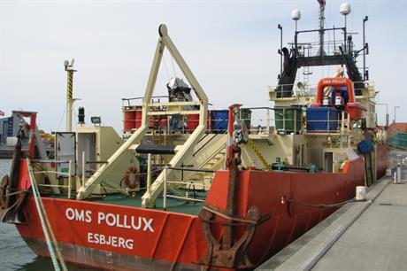 The OMS Pollux in happier times