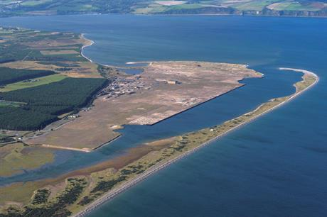 The Port of Ardersier is currently a vacant site ready for development