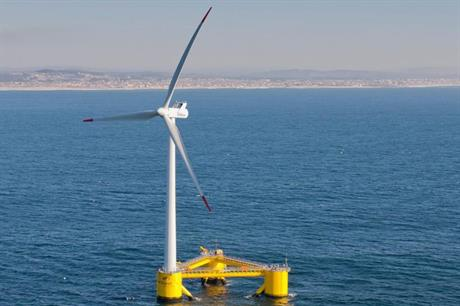 Principle Power has been testing its WindFloat technology in Portugal since 2011