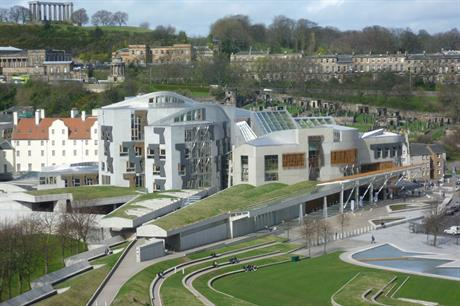 The Scottish parliament will gain more powers following the recommendations