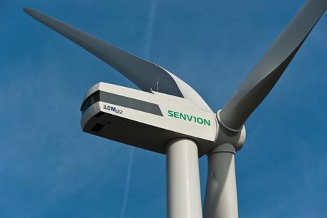 Senvion's 3MW onshore turbine has been marine-adapted for Italy's first offshore project