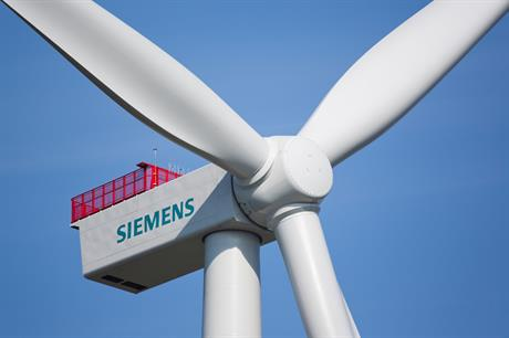 The first Siemens 3.6MW turbine has been installed