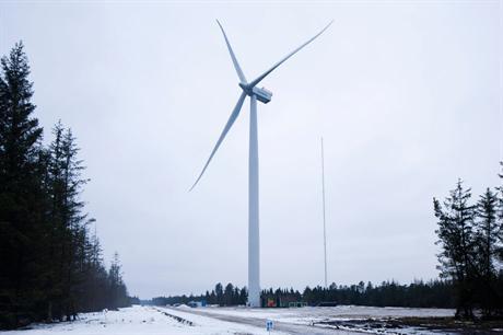 The 4MW Siemens turbine was tested at Østerild, northern Denmark