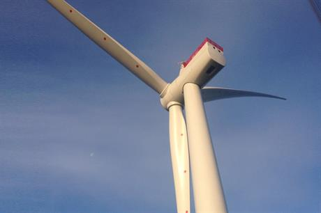 The first turbine was installed at Westermost Rough in August