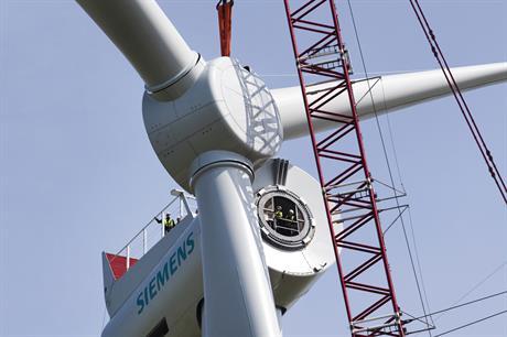Dudgeon will use Siemens' 6MW turbine