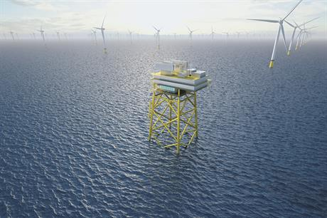 Siemens' new platform is only two-thirds of the weight of conventional converter platforms