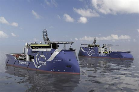 The new vessels are due to be commissioned in 2016 and 2017