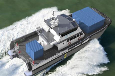 South Boats IOW's 26-metre catamaran