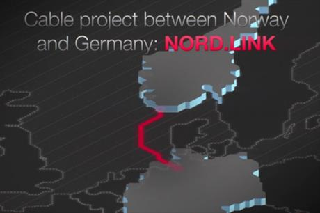 The NordLink transmission cable will connect Norway and Germany