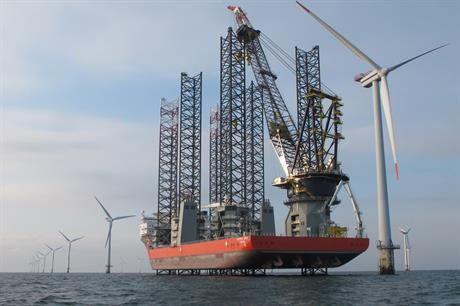 Swire Blue Ocean will supply one of its two jack-up vessels to the 600MW Gemini project