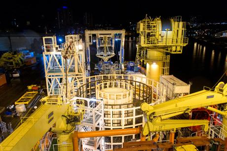 Technip installed cables at the Borkum West 2 offshore project