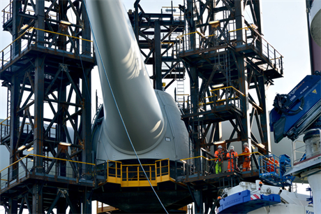 Construction of Borkum West 2 was completed in August 2014