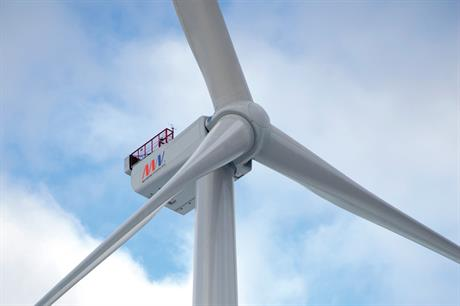 The V164 8MW turbine produced 192MWh in 24 hours
