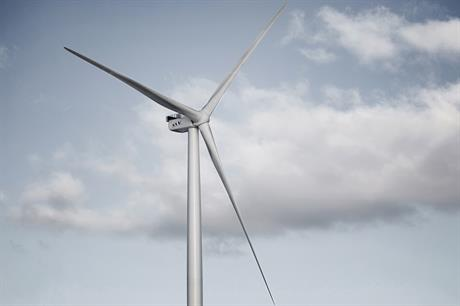 MHI-Vestas' 8MW V164 turbine looks set to be installed at the Walney Extension