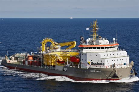 VSMC's new Ndurance vessel will be used during installation.