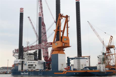 Van Oord has contracted FICG to design Gemini's three substations