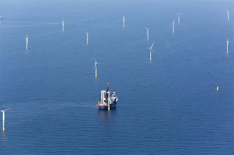 Vattenfall's DanTysk is currently one of Germany's furthest from shore projects in operation