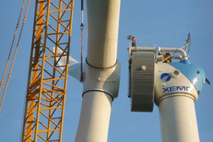 XEMC is lined up to provide its 5MW turbines