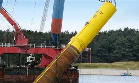 Ambau to supply monopiles and transition pieces for Nordsee One