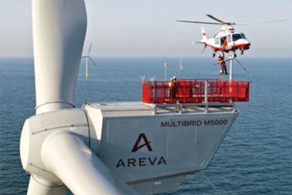 Areva's M5000 turbine was originally set for St Brieuc