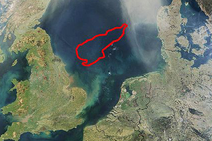 Dogger Bank - in the middle of the North Sea