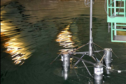 A small-scale model of the Hiprwind platform