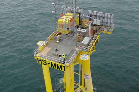 A met mast has already been installed in the Hornsea zone