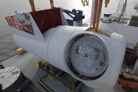 Westermost Rough is the first commercial project to use the Siemens 6MW turbine