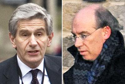 [L-R] Lord Stevenson and Sir James Crosby