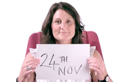 Breakthrough Breast Cancer in Scotland's One Day campaign video