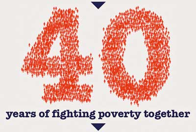 ActionAid's 40th anniversary campaign