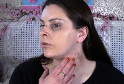 Make-up artist Lauren Luke in Refuge's video