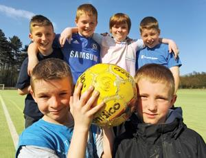 Fairplay Football in London has been funded by the BLF