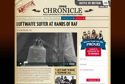 RAF Benevolent Fund's 1940 Chronicle