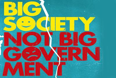 Big Society under pressure