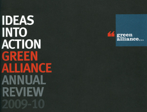 The Green Alliance's annual report